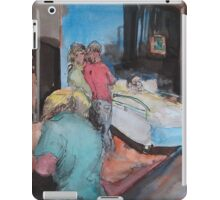 ED - view from a ward bed iPad Case/Skin