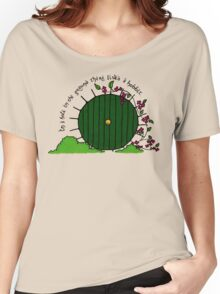 In a hole in the ground... Women's Relaxed Fit T-Shirt