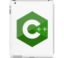c++ c plus plus green language programming iPad Case/Skin