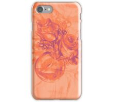 Colorful watercolor painting of roses in a terrarium.  iPhone Case/Skin