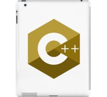 c++ c plus plus yellow language programming iPad Case/Skin