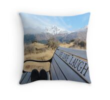 Live Love Laugh! Throw Pillow