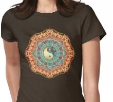 Eastern Batik Yin Yang Womens Fitted T-Shirt