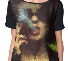 Marla Singer// Fight Club Chiffon Top