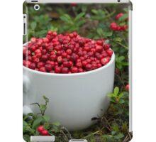 Mug full of Cowberries iPad Case/Skin