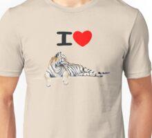 I love Tigers Unisex T-Shirt