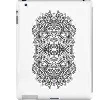 SYMMETRY - Design 002 (B/W) V1 iPad Case/Skin