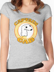 Captain Cab. Women's Fitted Scoop T-Shirt