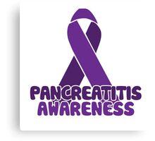 pancreatitis Awareness Canvas Print
