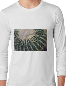 Detail of round cactus Long Sleeve T-Shirt