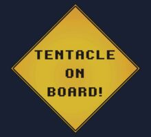 Tentacle on Board! Kids Tee