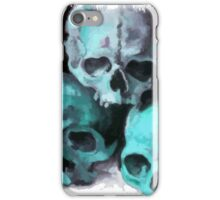 Happy Halloween Pile of Skulls After Cezanne iPhone Case/Skin