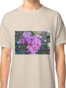 Purple delicate flowers Classic T-Shirt