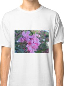 Purple delicate flowers Classic T-Shirt