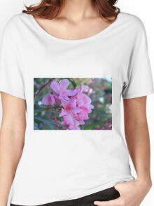 Purple delicate flowers Women's Relaxed Fit T-Shirt