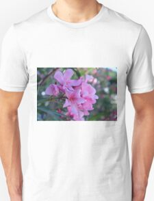 Purple delicate flowers Unisex T-Shirt