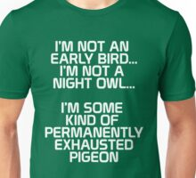 Exhausted Pigeon Tee Unisex T-Shirt