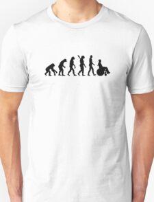 Evolution wheelchair handicaped T-Shirt