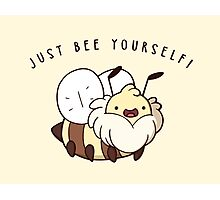 Just Bee Yourself Photographic Print