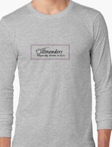 Ollivanders Wand Shop Long Sleeve T-Shirt