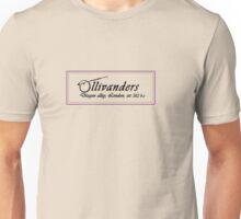 Ollivanders Wand Shop Unisex T-Shirt