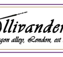 Ollivanders Wand Shop Sticker