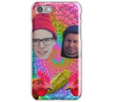 LEGIT FOOD REVIEW h3h3 idubbbz COLLAB  iPhone Case/Skin