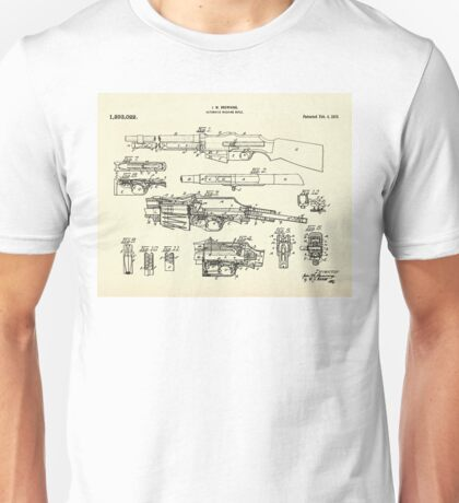 Automatic Machine Rifle-1919 Unisex T-Shirt