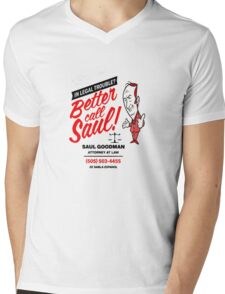 Better Call Mens V-Neck T-Shirt