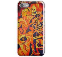 Trick or Treat Corpse Embracing Death After Kubista iPhone Case/Skin