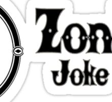 Zonkos Joke Shop Sticker