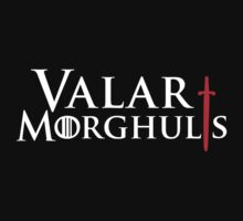 Valar Morghulis Red Sword by Rokkaku