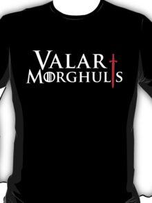 Valar Morghulis Red Sword T-Shirt