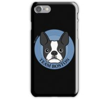 Team Boston - Terrier Puppy Dog  iPhone Case/Skin
