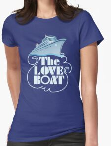 Love Boat TV SERIES Womens Fitted T-Shirt