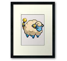Pixel Mareep Framed Print