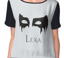 Lexa Object - The 100 Chiffon Top