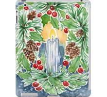 Pine and Holly Wreath iPad Case/Skin