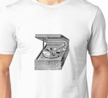 Record player - record - LP disk - music lover  Unisex T-Shirt