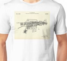 Firearm Having an Auxiliary Bolt Closure Mechanism-1966 Unisex T-Shirt