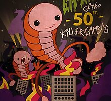 The attack of the 50 ft killer gambas by Atomique Acorn