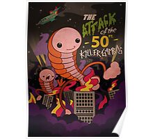 The attack of the 50 ft killer gambas Poster