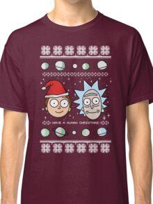 Human Christmas (color) Classic T-Shirt