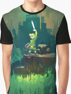 Zelda Minimal Sword Graphic T-Shirt