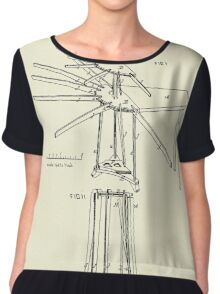 Improvement in Clothes Driers and Ironing Boards-1878 Chiffon Top
