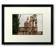 Rome - Imperial Forums Framed Print