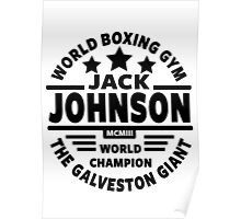 Boxing, Jack Johnson Poster