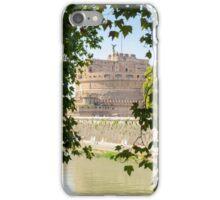 Rome - Mausoleum of Hadrian  iPhone Case/Skin