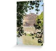 Rome - Mausoleum of Hadrian  Greeting Card