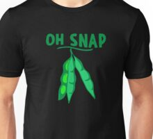 Oh Snap Peas In A Pod Veggie Lover Unisex T-Shirt